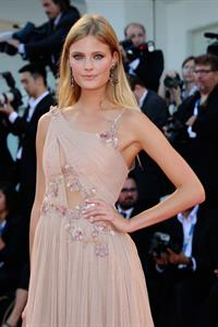 Constance Jablonski at Birdman premiere opening the 71st International Venice Film Festival August 27, 2014