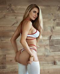 Amanda Elise Lee in a bikini - ass