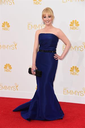 Melissa Rauch at the 66th annual Primetime Emmy Awards, August 25, 2014