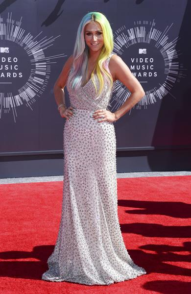 Kesha at the MTV Video Music Awards Aug. 24, 2014