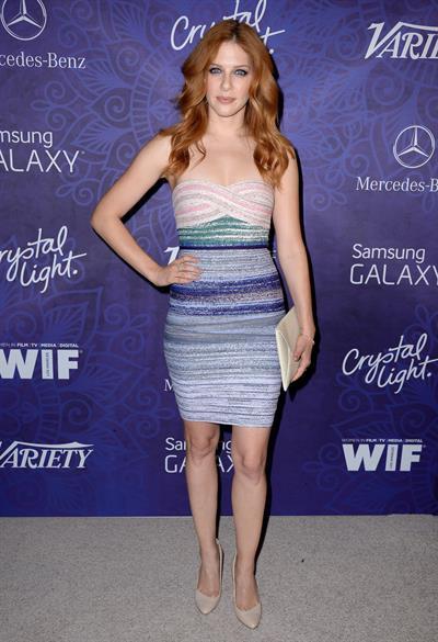 Rachelle Lefevre Variety and Women in Film Emmy Nominee Celebration, LA August 23, 2014