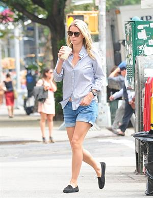 Nicky Hilton coming back from 7-Eleven in New York City August 20, 2014
