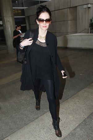 Eva Green @ LAX August 19, 2014