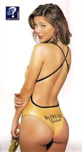 Luisana Lopilato in a bikini - ass