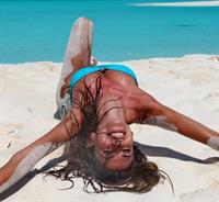 Alessia Ventura in a bikini