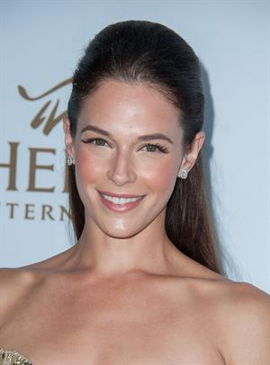 Amanda Righetti Heifer 3rd Annual Beyond Hunger: A Place At The Table Gala in Beverly Hills August 22, 2014