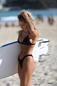 Madison Edwards in a bikini