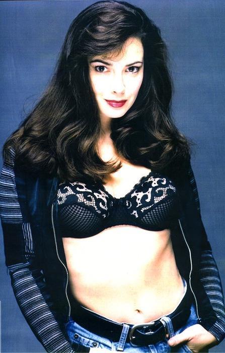 Nicola Bryant in lingerie