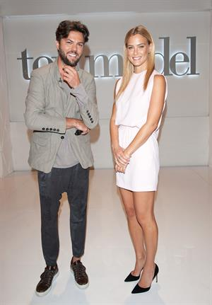 Bar Refaeli during press junket Top Model in Poland August 19, 2014