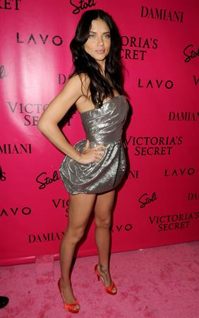 Adriana Lima at the Victoria's Secret Fashion show after party 2010