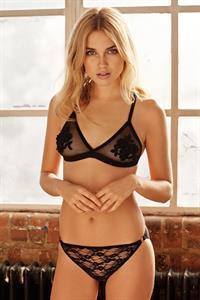 Georgia Grace Martin in lingerie