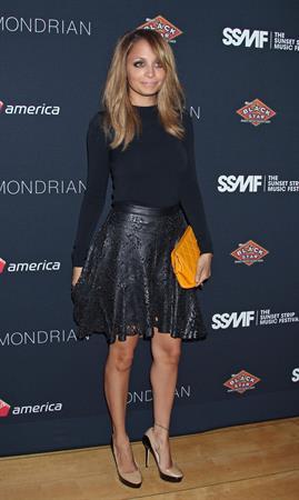 Nicole Richie - 5th Annual Sunset Strip Music Festival's VIP Party in LA 17.08.12