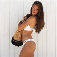 Hailey McLaine Outland in a bikini