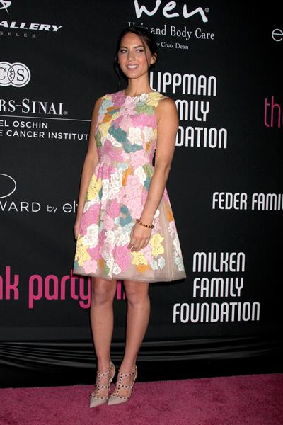 Olivia Munn 8th Annual Pink Party in Santa Monica 10/27/12