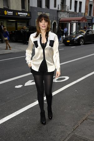 Rose McGowan Spotted on the streets of New York (November 12, 2012)