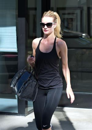 Rosie Huntington-Whiteley candids in LA 10/31/13