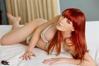Marie McCray in lingerie