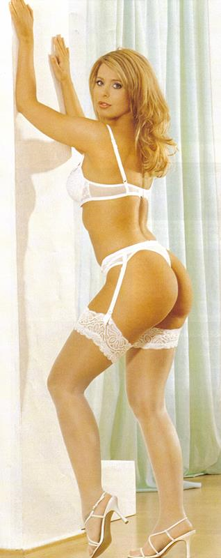 Kelly Norton in lingerie - ass