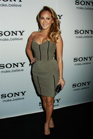 Adrienne Bailon Sony event October 12, 2010