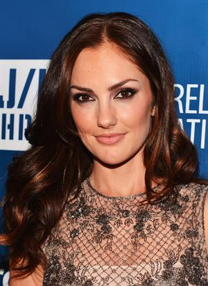 Minka Kelly 2nd Annual Sean Penn and Friends Help Haiti Home Gala in Los Angeles - January 12, 2013