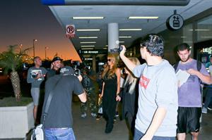 Paris Hilton arrive at LAX Airport 9/30/13