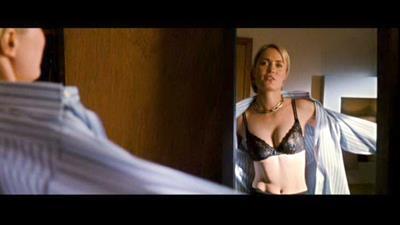 Radha Mitchell in lingerie