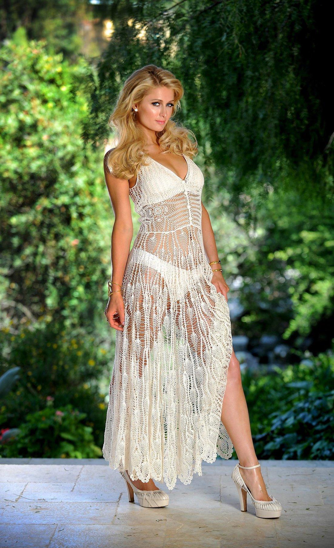Paris Hilton Bikini and Lingerie Photoshoot