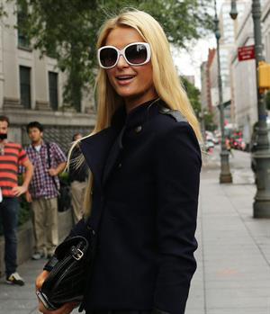 Paris Hilton Leaves Federal Court in NYC June 4, 2012