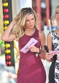 Abigail Clancy This Morning on July 24, 2012
