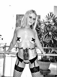 Aaralyn Barra in lingerie