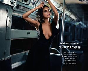 "Adriana Lima – ""Numero"" Magazine 2013 December issue"