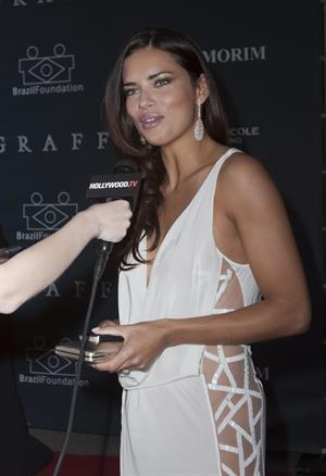 Adriana Lima 2nd Annual Brazil Foundation Gala in Miami 3/26/13