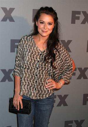 Alexa Vega FX ad sales upfront at Lucky Strike in New York City on March 29, 2012