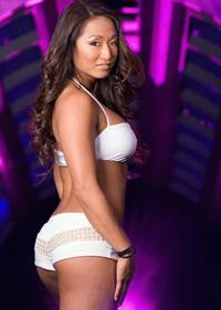 Gail Kim in lingerie - ass
