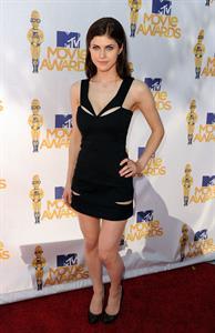 Alexandra Daddario MTV Movie Awards June 6, 2010