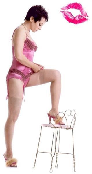 Jane Wiedlin in lingerie