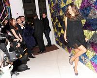 Alessandra Ambrosio Galeria Melissa Flagship store opening New York on February 8, 2012