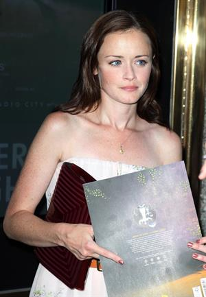 Alexis Bledel Cirque du Soleil Zarkana opening night at Radio City Music Hall in New York on June 29, 2011