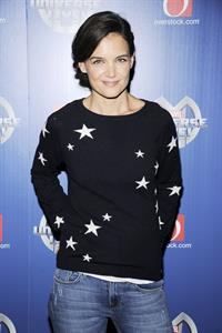 Katie Holmes at Marvel Universe Live! New York City premiere August 13, 2014