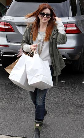 Alyson Hannigan Shopping in Brentwood (November 21, 2013)
