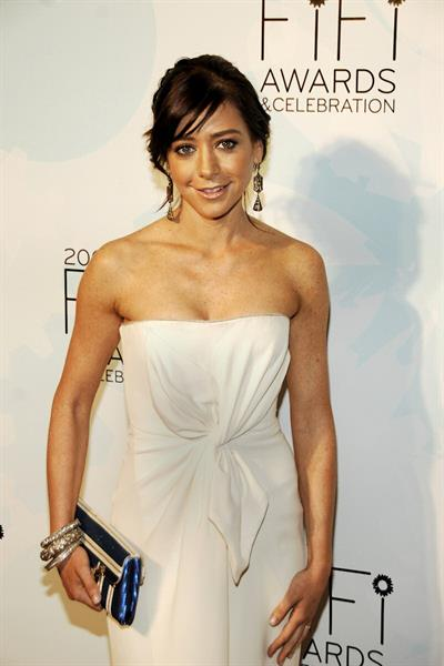 Alyson Hannigan 36th annual FIFI awards hosted by the Fragrance Foundation