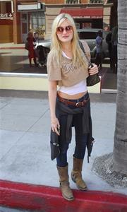 Amanda Michalka in Beverly Hills on February 2, 2012