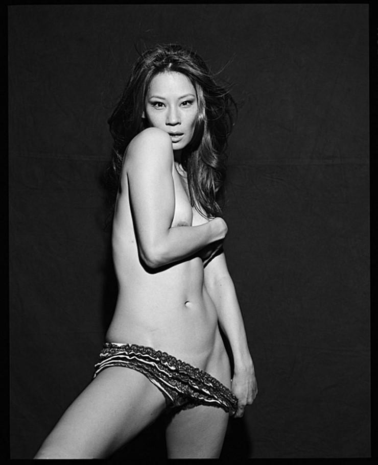 Lucy Liu - breasts