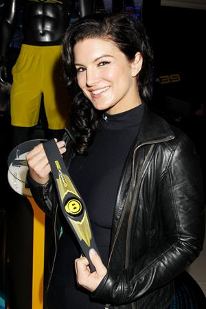 Gina Carano Under Armour I WILL Launch, 12 Feb 2013