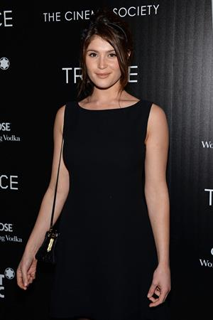 Gemma Arterton attending The Premiere Of Fox Searchlight Pictures'  Trance  on April 2, 2013