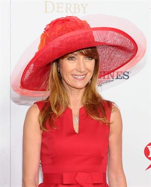 Jane Seymour celebrates the 139th Kentucky Derby at Churchill Downs in Louisville - May 4, 2013
