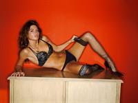 Sarah Karges in lingerie