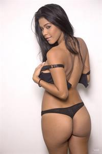 Kendra Roll in lingerie - ass