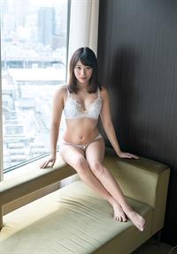 Miki Sunohara in lingerie