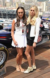 Tamara and Petra Ecclestone - Red Bull Energy Station in Monaco, May 29, 2011